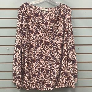 Dress Barn Floral plus size top